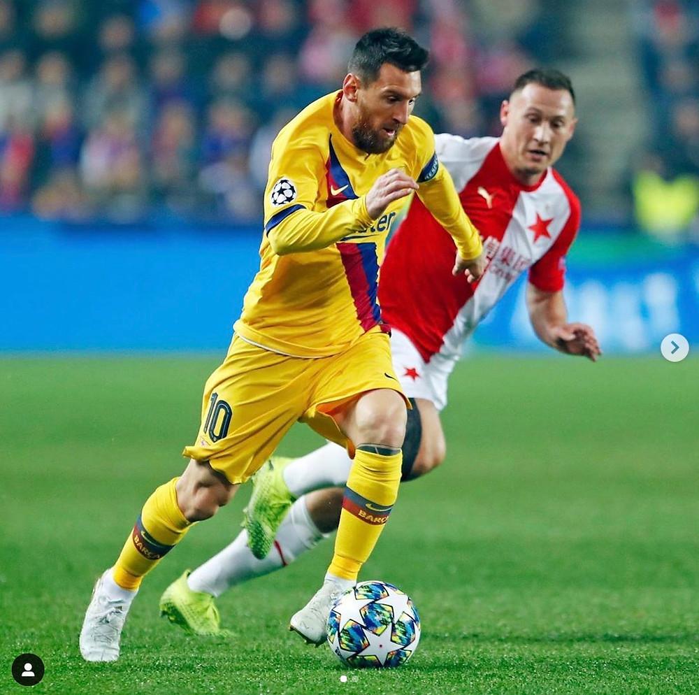 leo messi sports athlete soccer influencer instagram argentina