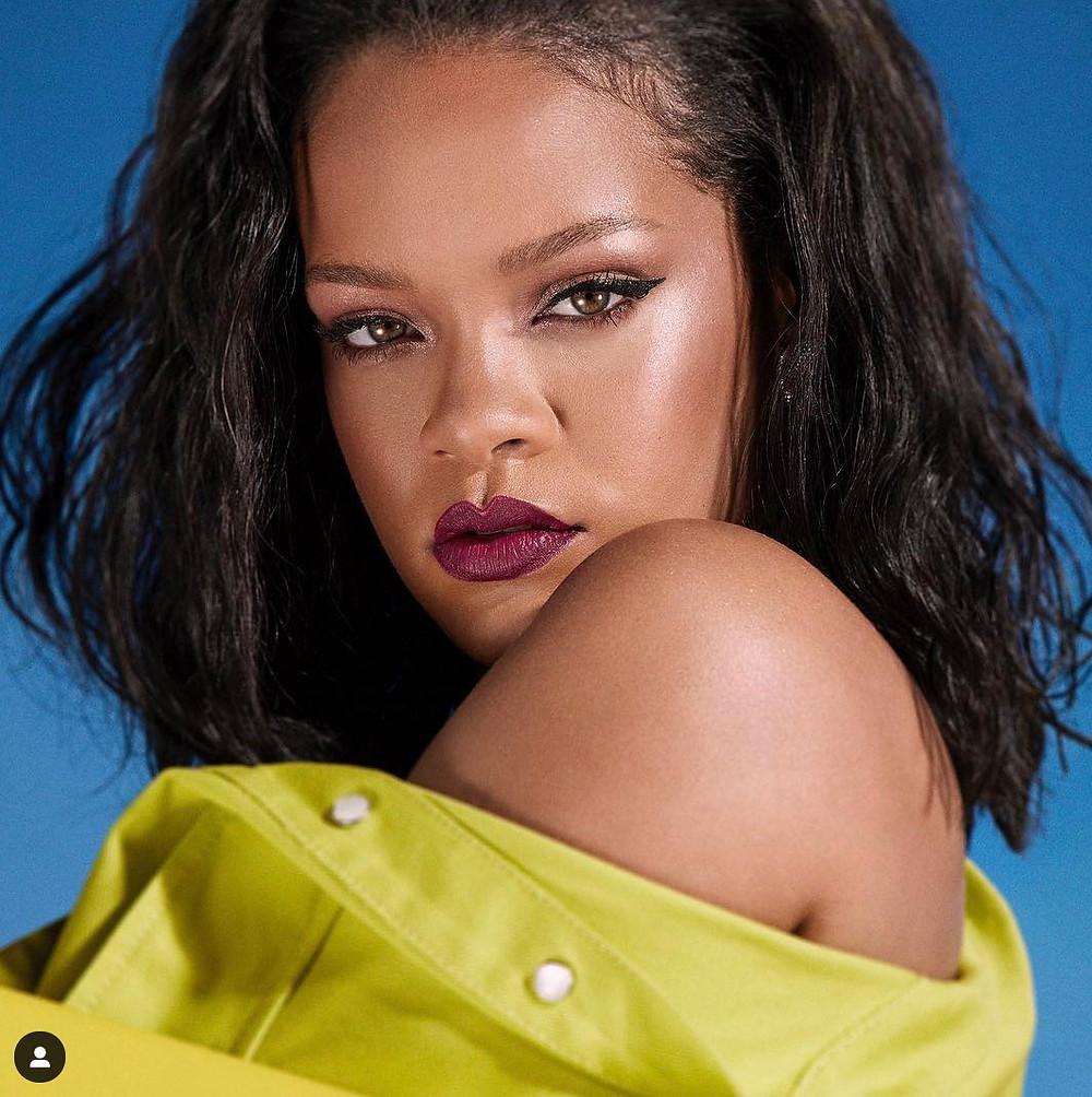 rihanna singer songwriter model influencer ig instagram fashion