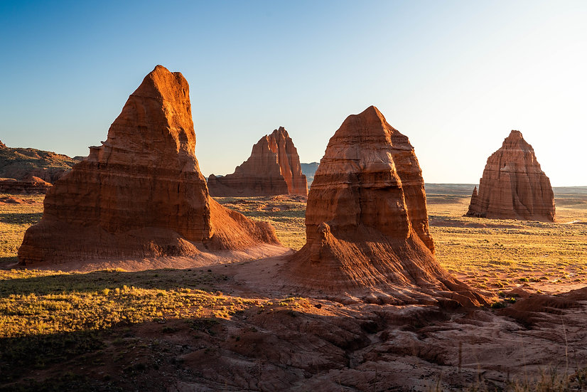 Morning Monoliths