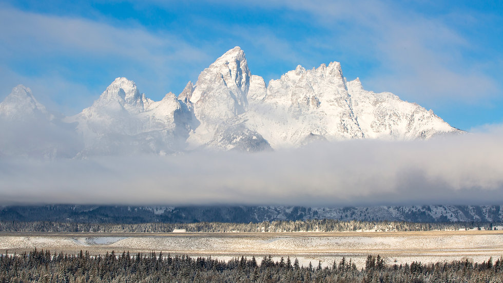 Winter Tetons