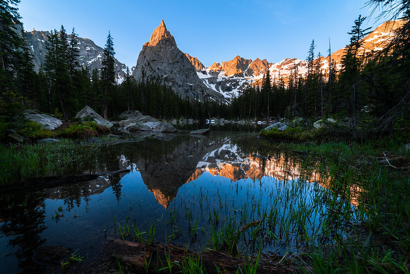 Alpine Dawn Reflection