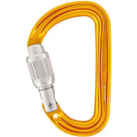 Petzl Sm'D Screwgate Carabiner - Lightweight and Compact