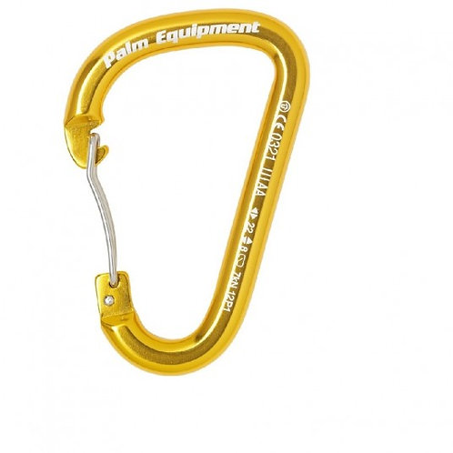 Palm Wire Gate Carabiner - Safety and Rescue Equipment