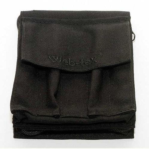 WEB-TEX A6 Waterproof Notebook Holder - Black