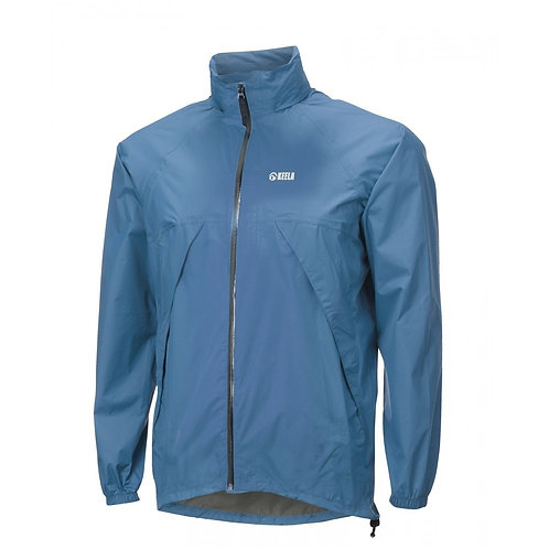 Keela Stashaway Jacket - Waterproof and Breathable - Size: Medium in Blue