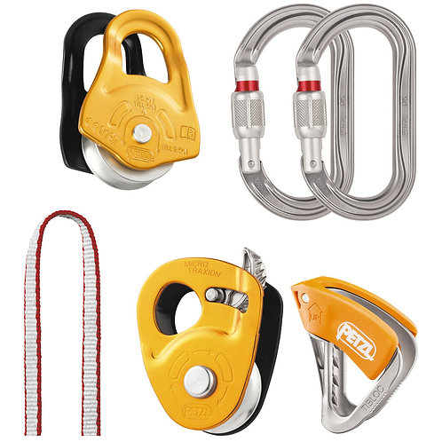 Petzl Crevasse Rescue Kit - Hauling and Self-Rescue