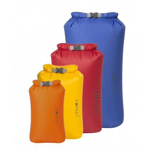 Exped Fold Drybags (Bright Set) 4 Pack Sizes: XS - Large