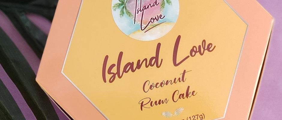 Island Love Coconut Rum Cake