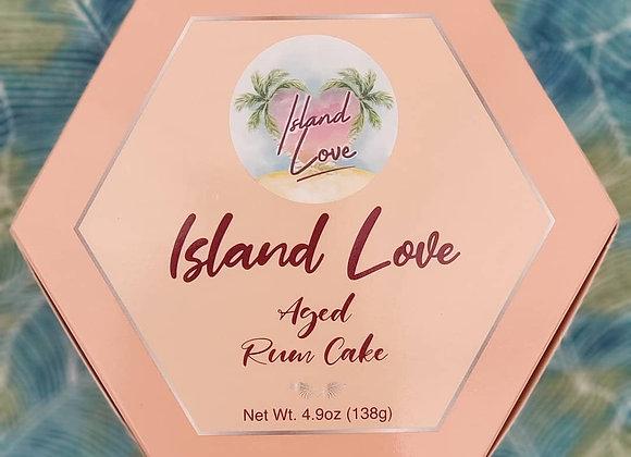 Island Love Aged Rum Cake
