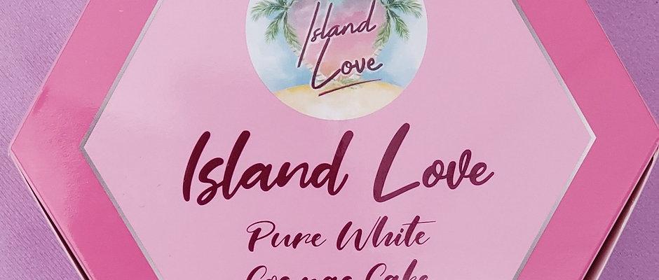 Island Love Pure White Cognac Cake