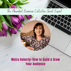 ABC Guest Moira Doherty Podia (1)