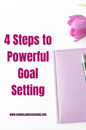 4 Steps to Powerful Goal Setting