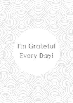 ABC Colour Sheet Gratitude