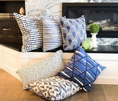 blue pillows, denim pillows, modern pillows, decor pillows, modern decor, accent pillows, throw pillows, pillow covers, modern farmhose pillows, sofa pillows, couch pillows, living room pillows, bed pillows, bedroom pillows, family room pillows, cottage pillows, accent pillows, blue and white pillows