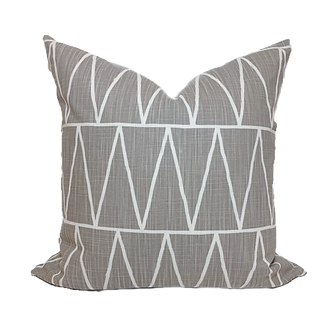 gray pillows, modern pillows, mid-century pillows,  cute pillows