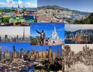 What Do Estonia, Hong Kong, the California Gold Rush, Singapore, Disney World, Monaco, and Dubai Hav