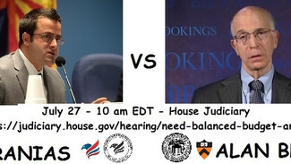 U.S. House Judiciary Invites Compact for America to Testify on the Need for a Balanced Budget Amendm