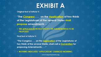 The Founders Wanted a Laser-Targeted Article V Convention (Post 1 in a Series of 8 Postings)