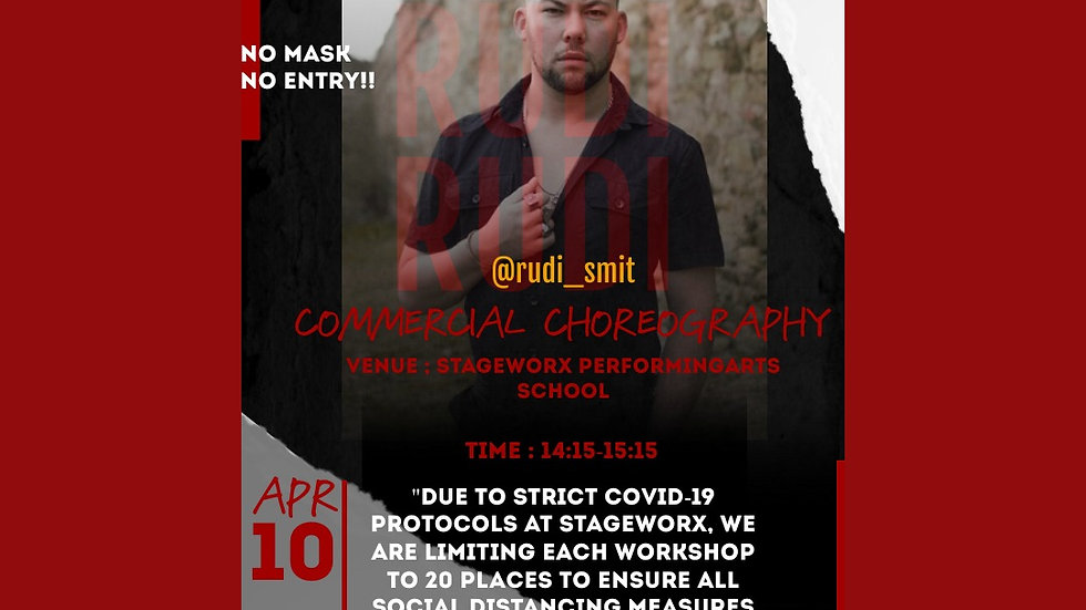 Rudi Smit - Commercial Choreography