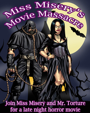 A Darkly Night with Horror Hostess Miss Misery