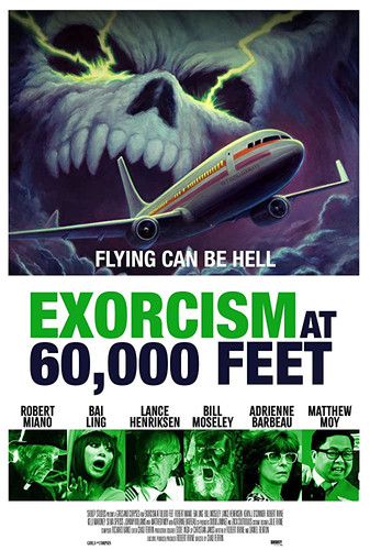 Exorcism at 60,000 Feet | Feature Horror Film Trailer/Q&A
