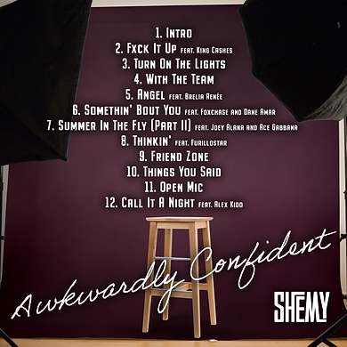Shemy - Awkwardly Confident BACK cover-f