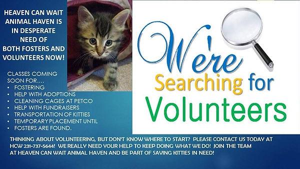 Heaven Can Wait Volunteers