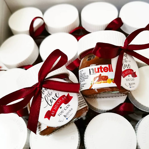 Mini Nutella Intimate Package