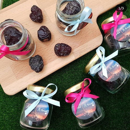 Ajwa Dates in a Jar Intimate Package
