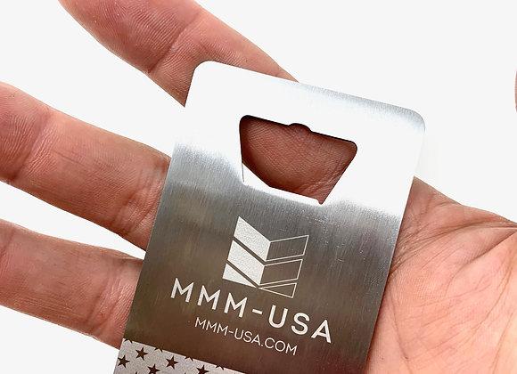 MMM-USA Custom Bottle Opener