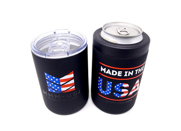 MMM-USA 12oz Tumbler / Can Koozie