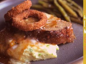 Garlic-Mango Meatloaf