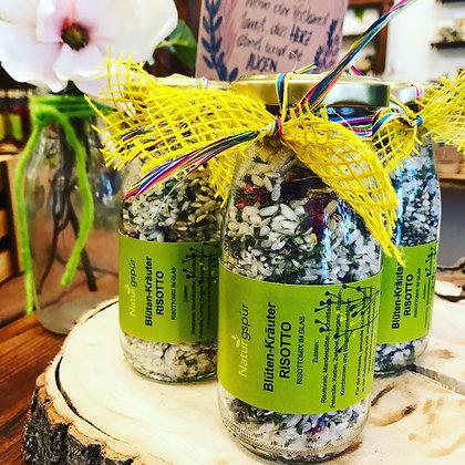 Blüten-Kräuter-Risotto