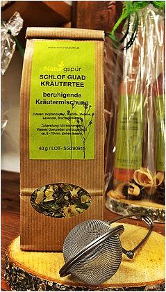 Schlof guad Kräutertee