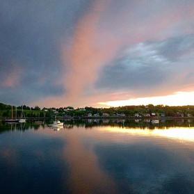 Lunenburg Harbour_#summersolstice #lunen
