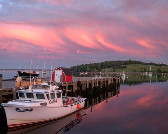 Lunenburg sunset_#summersolstice #lunenb