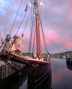 Bluenose II at sunset_#summersolstice #l