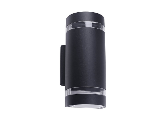 Cilindro aluminio negrobase GU10