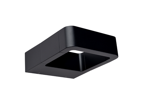 Tubular aluminio negro 10W