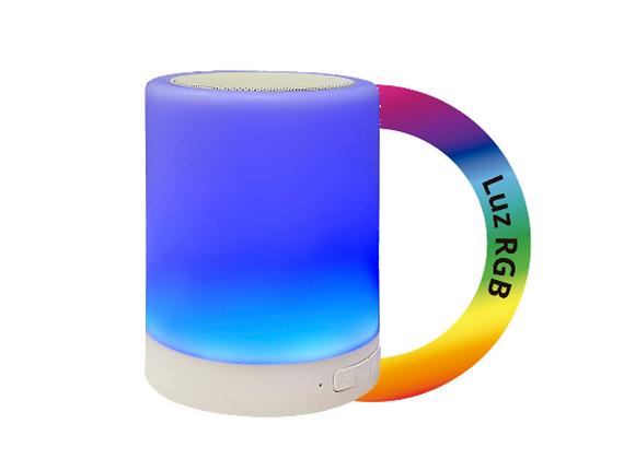Bocina Bluetooth RGB