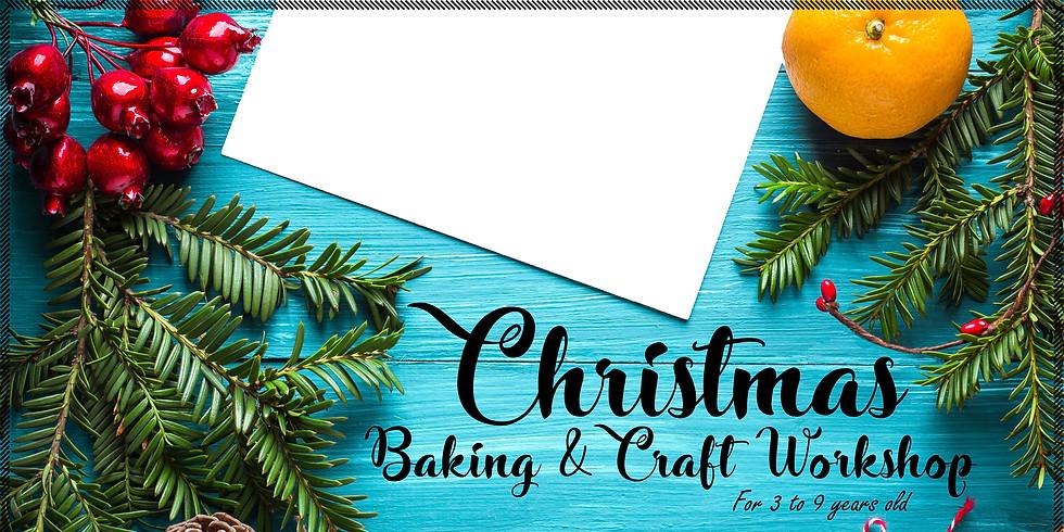 2 Dec - Christmas Baking & Craft Workshop