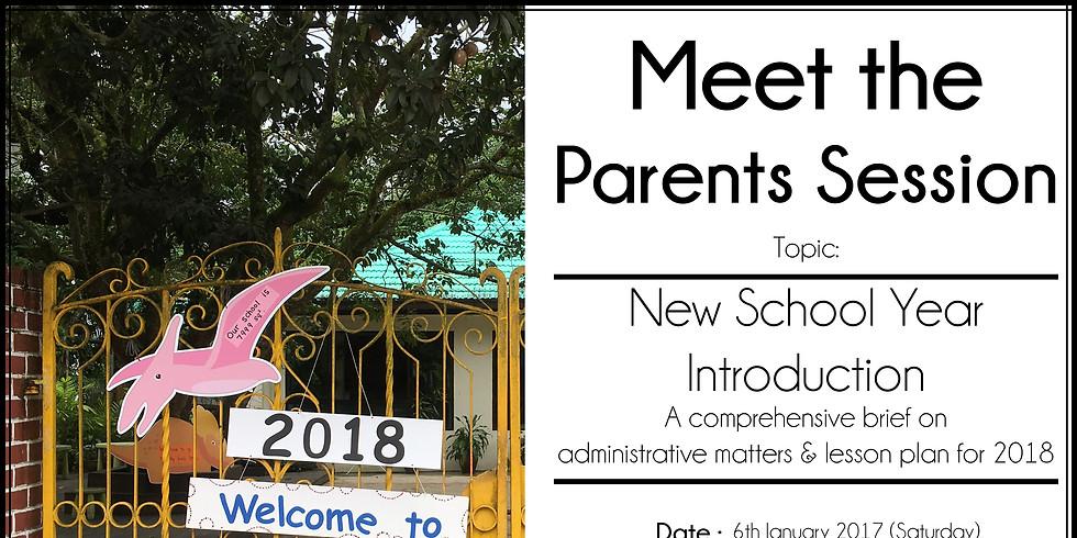 Parent School Meeting 2018
