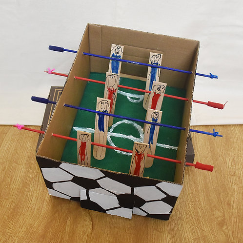 Curry Leaf Class's Table Football Game Set