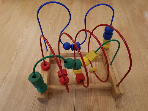 Wire Track Bead Toy