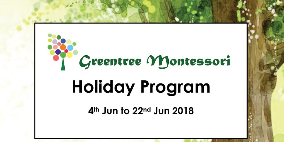 Holiday Program - June 2018