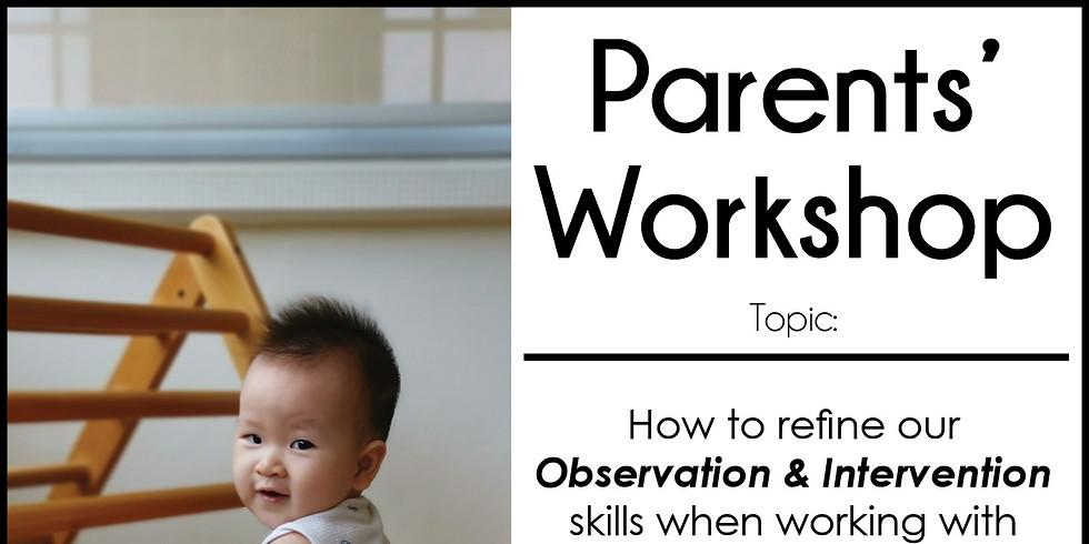 Parents' Workshop Online