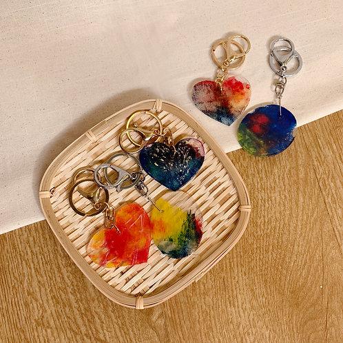 Hibiscus Class's Shrinky Keychain