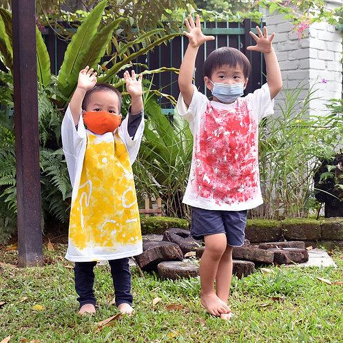 Rambutan Class's Abstract Colour T-Shirt