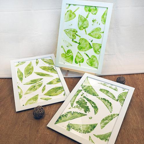 Periwinkle Class's Print Art Masterpiece