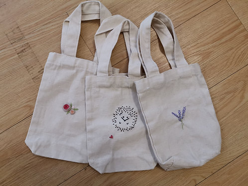 Sponsored Item: Hand Embroidered Water Bottle / Cup Carrier